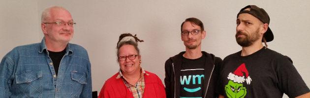 Foto vom Vorstand des Cannabis Social Clubs Halle/Saale